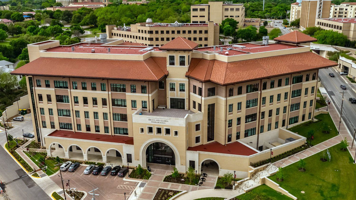 Texas State University-Ingram Hall -  San Marcos,  TX