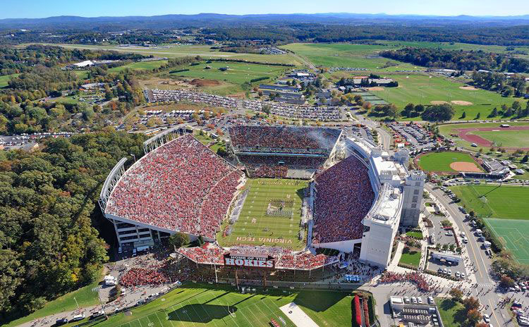 Virginia Tech-Lane Stadium West Side Expansion -  Blacksburg,  VA