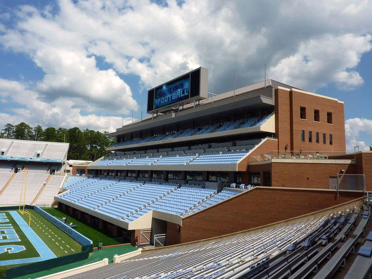 UNC-Kenan Stadium East Endzone Expansion -  Chapel Hill,  NC
