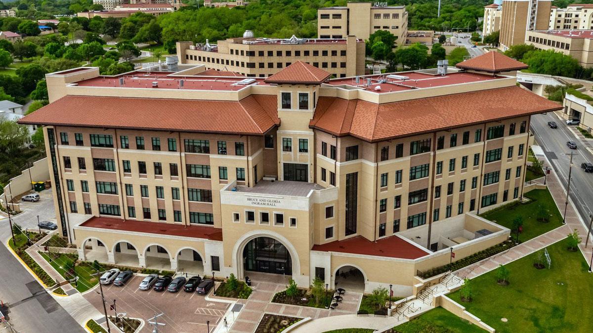 Texas State University-Ingram Hall -  San Marcos,  TX