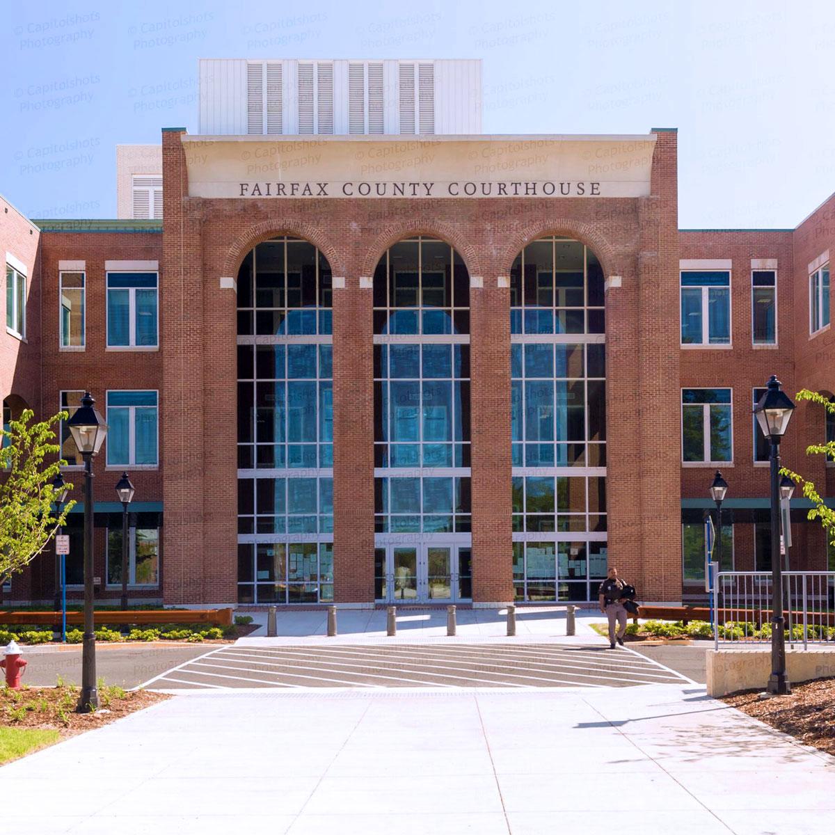 Fairfax County Courthouse -  Fairfax,  VA