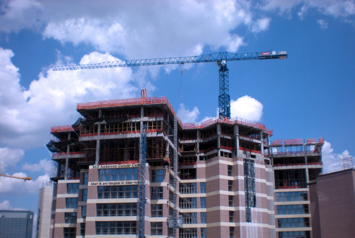 MD Anderson Cancer Center Vertical Expansion -  Houston,  TX