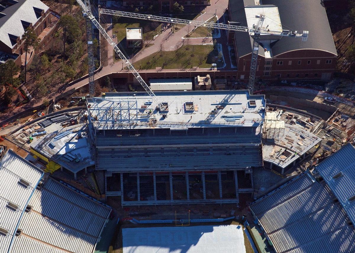 UNC-Kenan Stadium East Endzone Expansion -  Chapel Hill,  NC