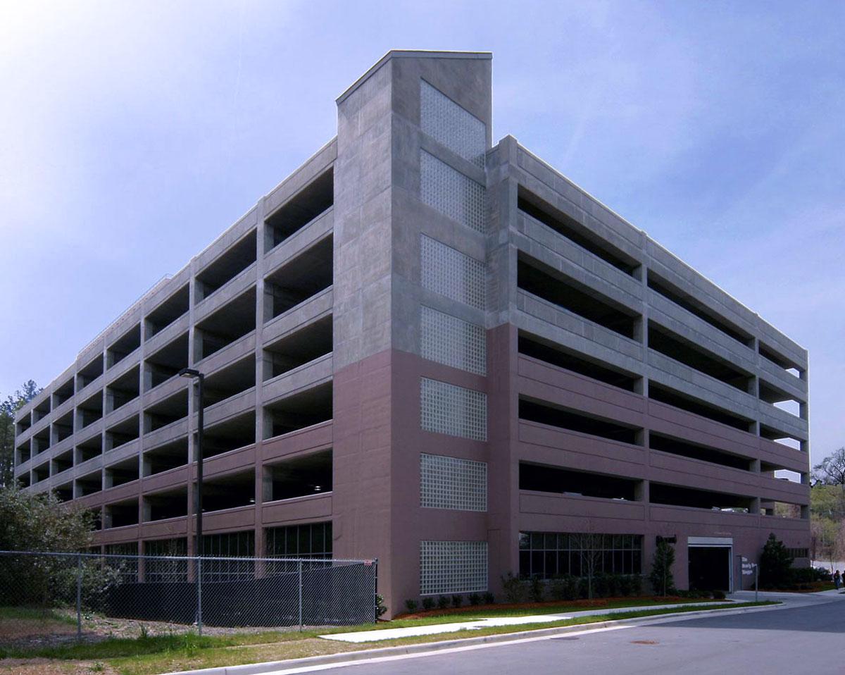 Hock Plaza Parking Deck -  Durham,  NC