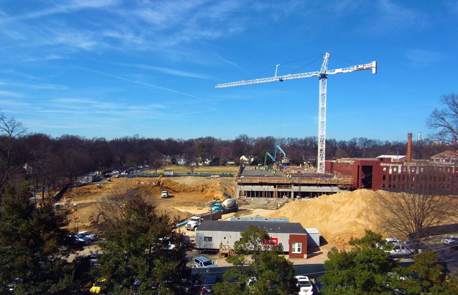 Queens University of Charlotte Parking Garage and Student Housing -  Charlotte,  NC