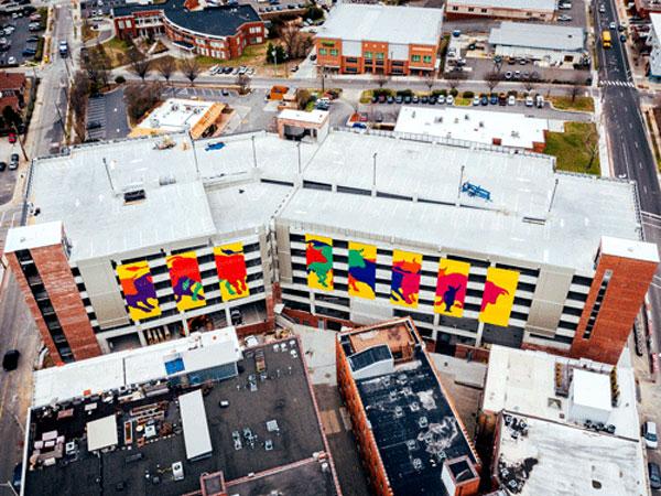 Durham Mixed-Use Parking Garage -  Durham,  NC