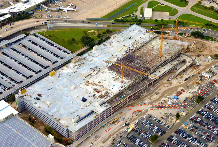 Austin-Bergstrom International Airport Blue Garage -  Austin,  TX