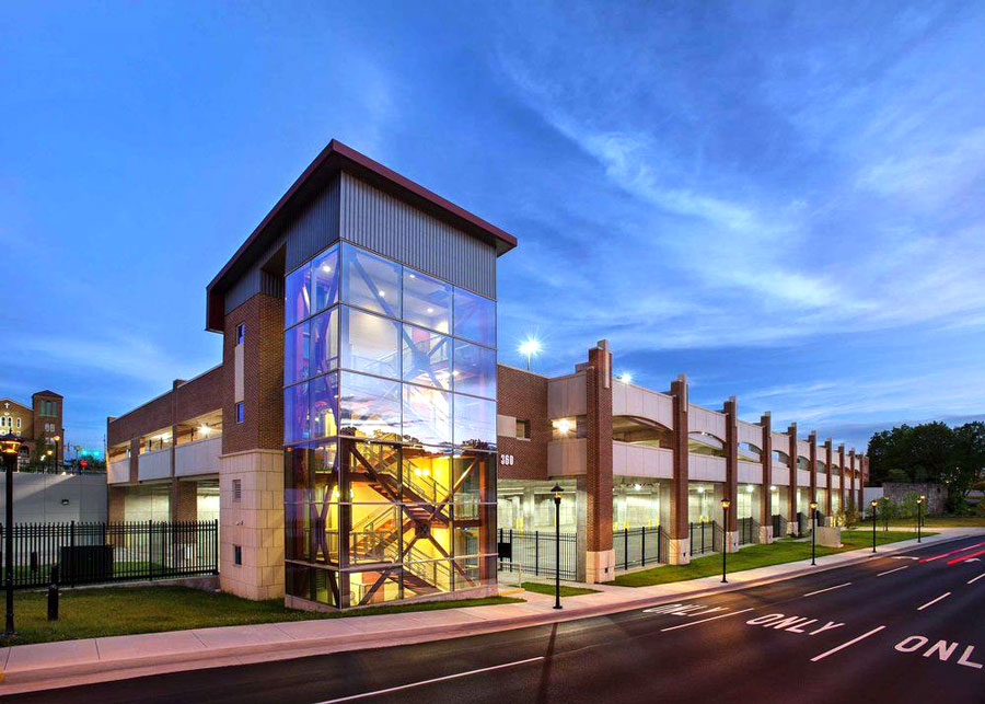 Beckley Intermodal Gateway Parking Deck -  Beckley,  WV